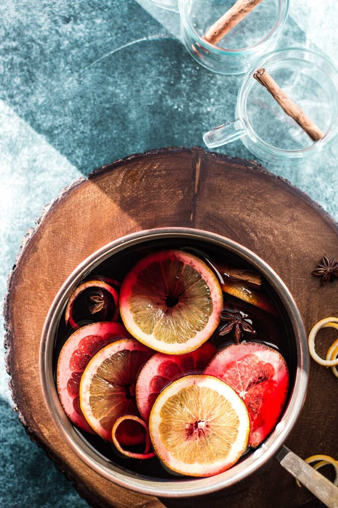 Mulled wine | Omm Foods by Laura Domingo
